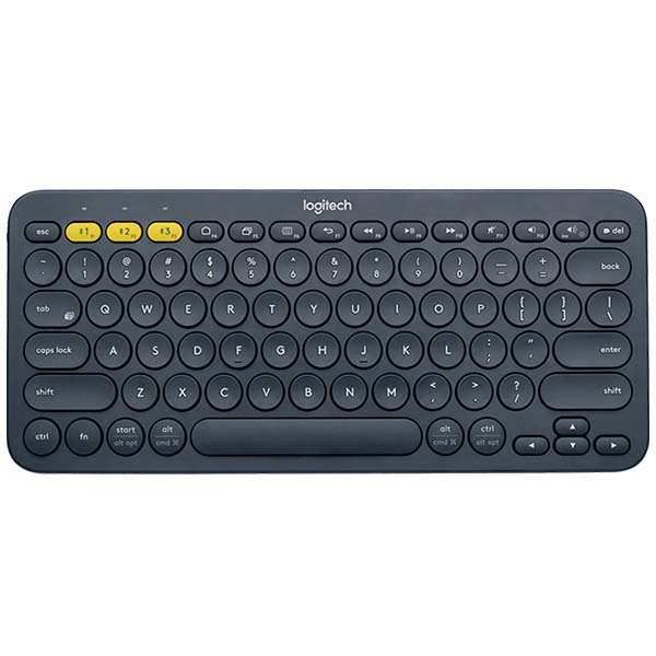 KEYBOARD / LOGITECH K380 BLUETOOTH/XÁM TỐI (DARK GREY) (920-007596) - hakivn