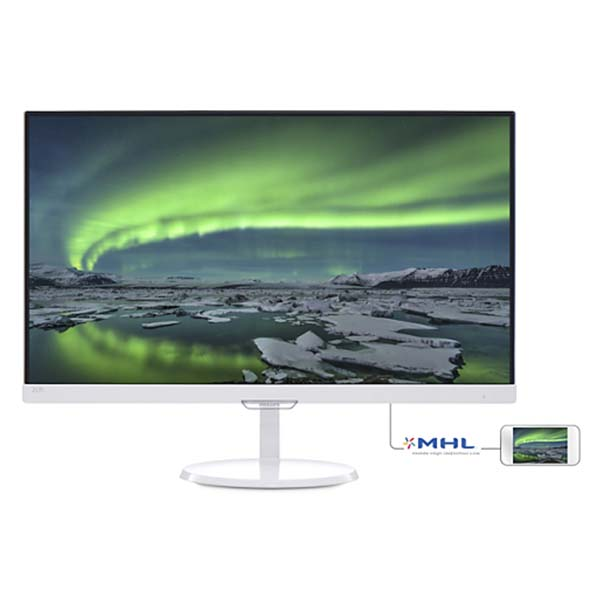 Màn Hình Philips 257E7QDSW/00 (White) 25'' (IPS) Wide LED - hakivn