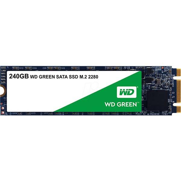 WD Green SSD 240GB M2-2280-WDS240G2G0B - hakivn
