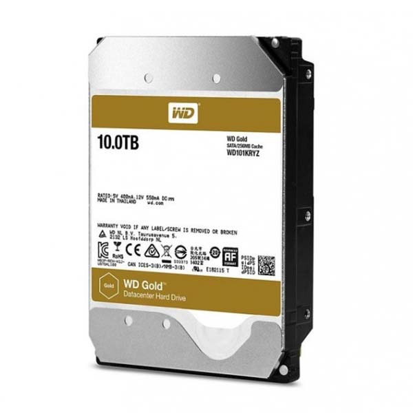 WD HDD GOLD 10TB  3.5