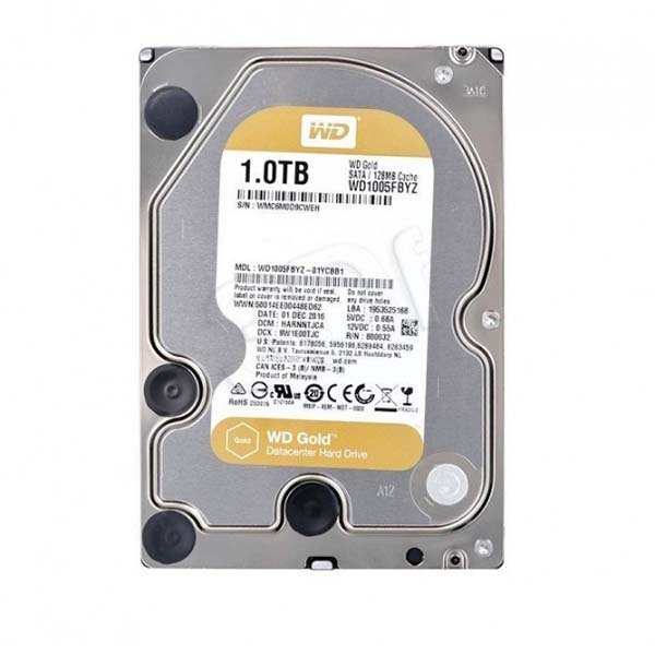 WD HDD GOLD 1TB 3.5