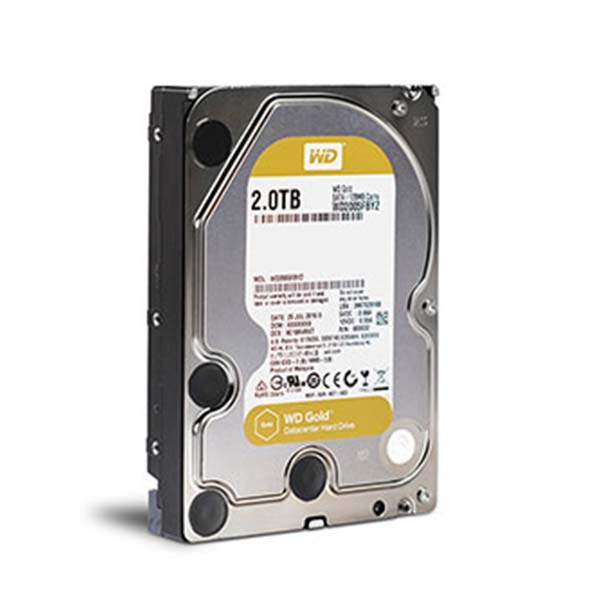 WD HDD GOLD 2TB  3.5