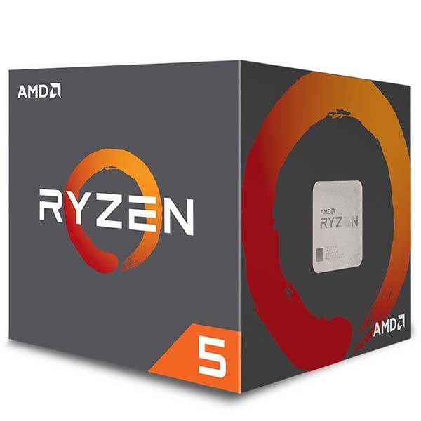 Bộ vi xử lý / AMD Ryzen 5 1400 3.2 GHz (3.4 GHz with boost) - RYZEN 5 1400 - hakivn