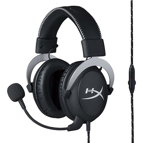 Headphone Kingston HyperX Cloud Silver Black - HX-HSCL-SR/NA - hakivn