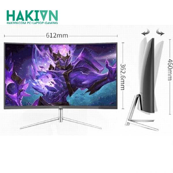 Màn hình AOC Monitor C27V1Q VA PANEL LED/Full HD - hakivn