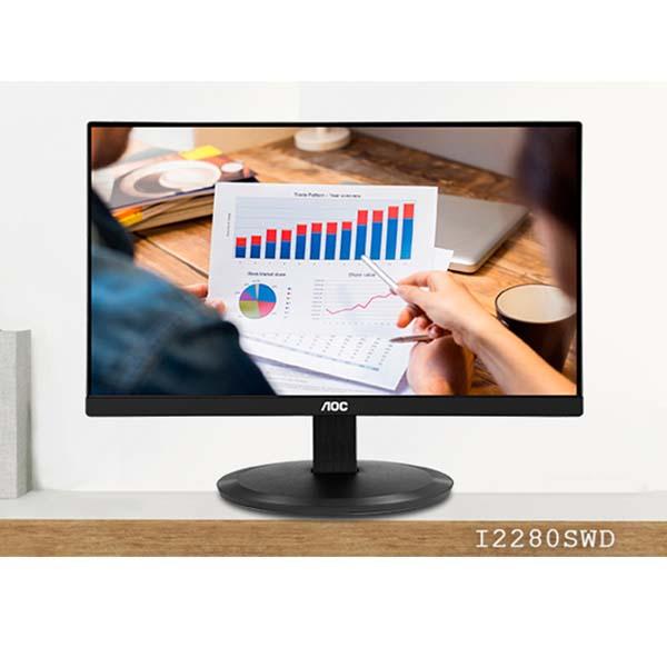 Màn hình máy tính AOC i2280SWD 21.5 inch LED IPS - I2280SWD/74 - hakivn