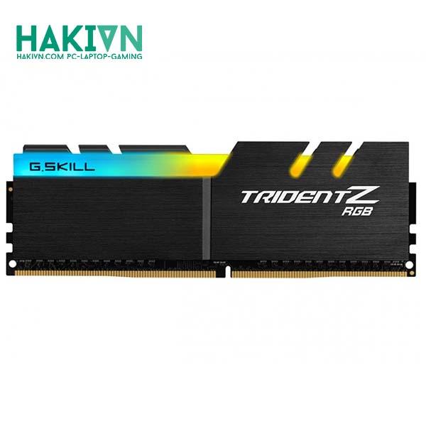 Ram GSkill TRIDENT Z RGB 8GB (8GBx1) DDR4 3000MHz – F4-3000C16S-8GTZR - hakivn