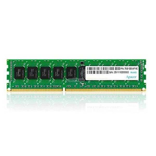 RAM Apacer UDIMM DDR3L ECC 8GB 1600MT/s CL11 - AE08GF1600BBBJ - hakivn