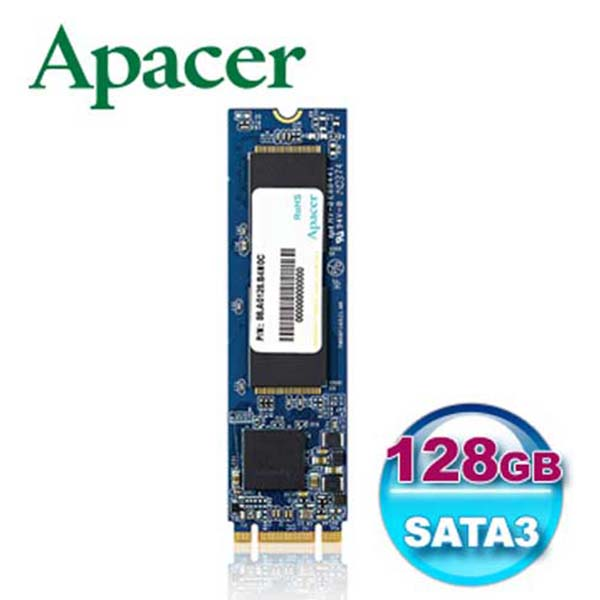 Ổ cứng Apacer AS2280 128GB M.2 - AP128GAS2280-1 - hakivn