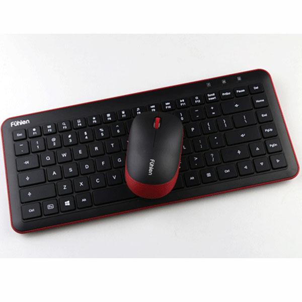 Bộ chuột và bàn phím Fuhlen Optica Wireless A65G - hakivn