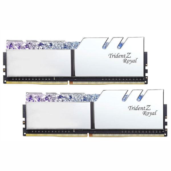 Ram G.Skill Trident Z Royal RGB 16GB (2x8GB) DDR4 3600 (F4-3600C18D-16GTRS) - hakivn