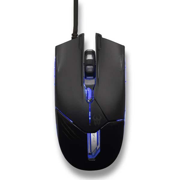Chuột Gaming Zidli ZM500_Black - hakivn