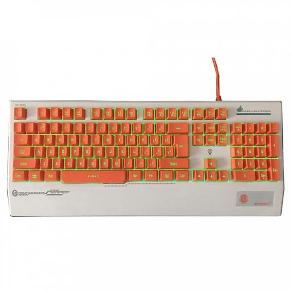 Bàn phím giả cơ Zidli GK500 PS/2 (Full size) - hakivn