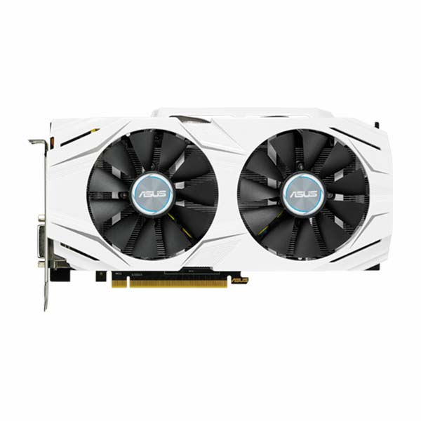 VGA ASUS GeForce GTX 1060 6GB GDDR5 DUAL OC (DUAL-GTX1060-O6G) - hakivn