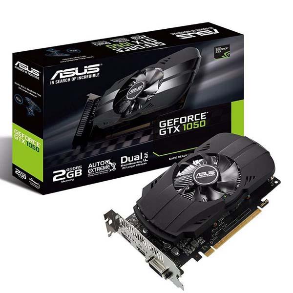 VGA ASUS GeForce GTX 1050 2GB GDDR5 Phoenix (PH-GTX1050-2G) - hakivn