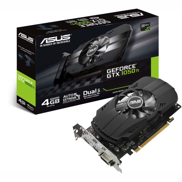 VGA Asus PH-GTX1050Ti-4G (NVIDIA Geforce/ 4Gb/ DDR5/ 128 Bits) - hakivn