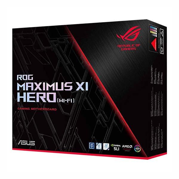 Mainboard Gaming Asus ROG Maximus XI Hero (Wifi) Z390 ATX Tản Nhiệt M.2 - hakivn