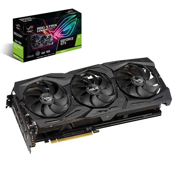 VGA Asus ROG-STRIX-GTX1660TI-A6G-GAMING (NVIDIA Geforce/ 6Gb/ GDDR6/ 192Bit) - hakivn