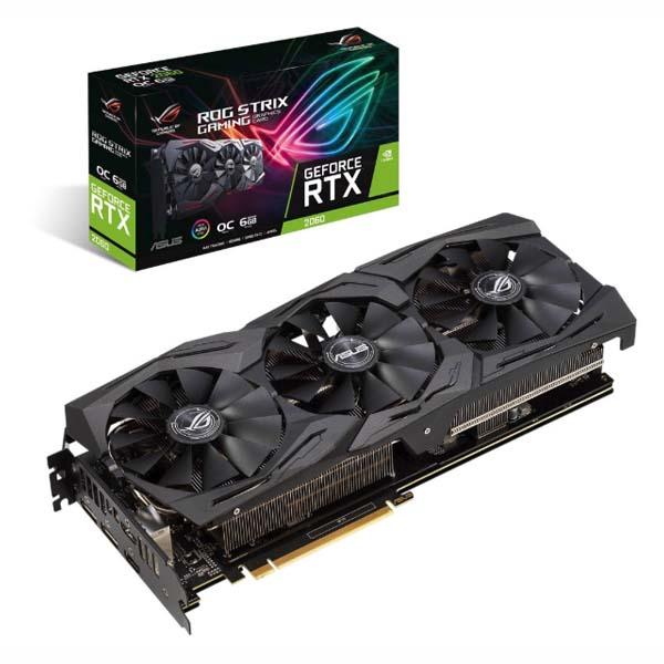 VGA ASUS GeForce RTX 2060 6GB GDDR6 ROG Strix OC - hakivn