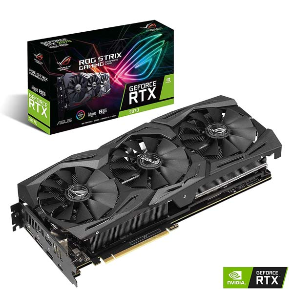 Card màn hình ASUS GeForce RTX 2070 8GB GDDR6 ROG Strix (ROG-STRIX-RTX2070-A8G-GAMING) - hakivn