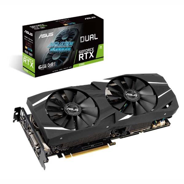 VGA ASUS GeForce RTX 2060 6GB GDDR6 DUAL - hakivn