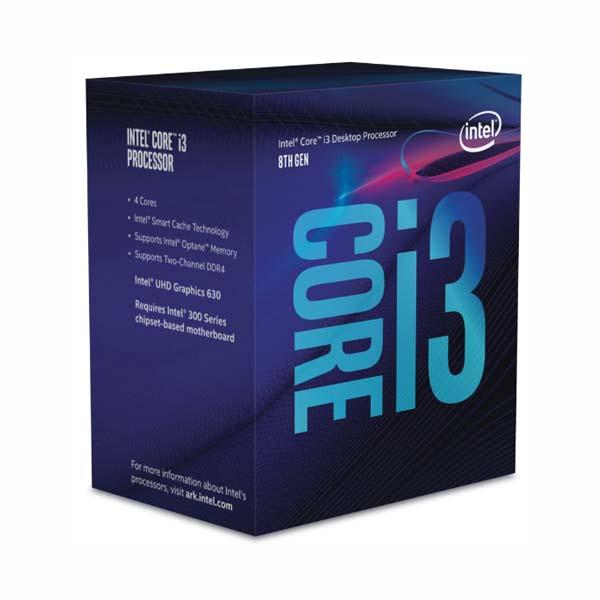 Bộ vi xử lí/ CPU Intel Core I3-8100 (3.6GHz) - hakivn