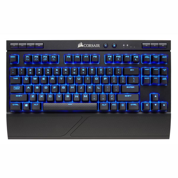 Bàn phím Corsair K63 Wireless - Mx Red - Blue led CH-9145030-NA - hakivn