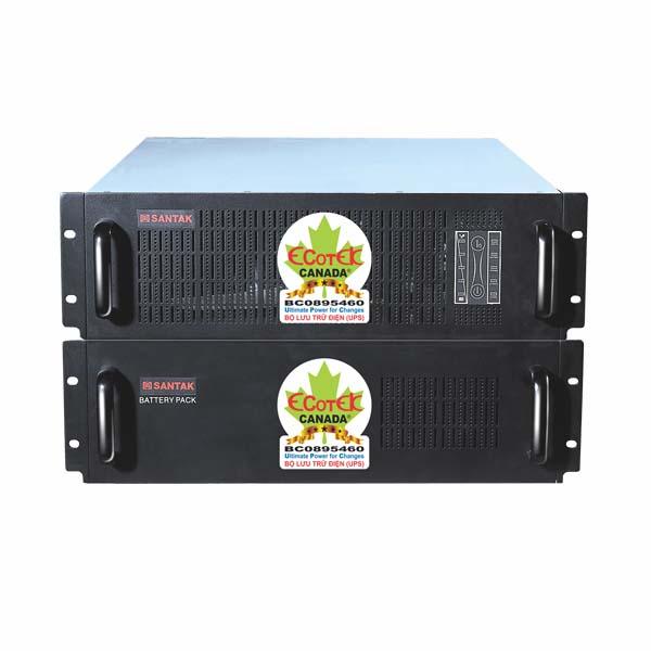 Bộ lưu điện Online Santak C6KR Rackmount (6 KVA / 4,2 KW) - hakivn