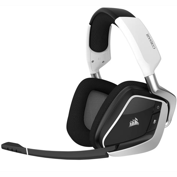 Tai nghe chơi game không dây Corsair VOID PRO RGB White CA-9011153-AP - hakivn