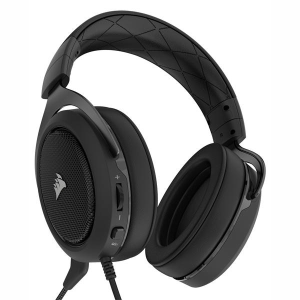 Tai nghe Corsair HS50 Stereo - Carbon CA-9011170-AP - hakivn