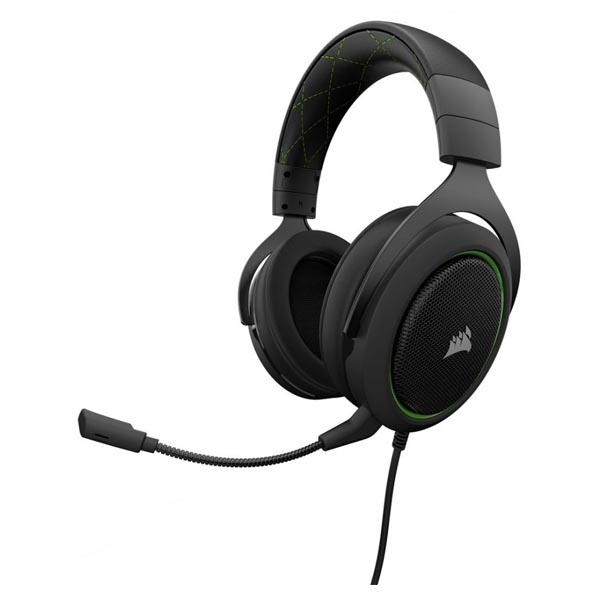 Tai nghe Corsair HS50 Stereo - Green CA-9011171-AP - hakivn