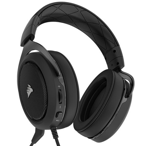 Tai nghe Corsair HS60 Surround 7.1 Carbon CA-9011173-AP - hakivn
