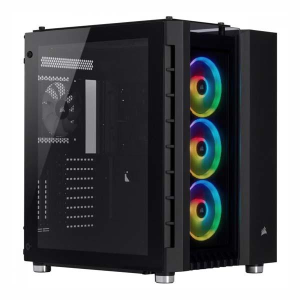 Vỏ máy tính Corsair 680X RGB TG Black CC-9011168-WW - hakivn