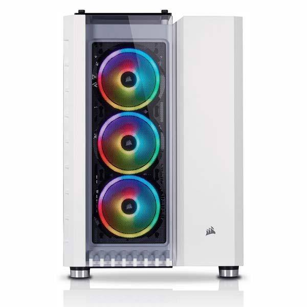 Vỏ máy tính Corsair 680X RGB TG White CC-9011169-WW - hakivn
