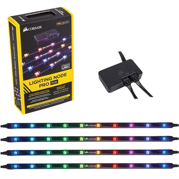Bộ dây đèn chiếu sáng kèm điều khiển Corsair Lighting Node PRO CL-9011109-WW - hakivn