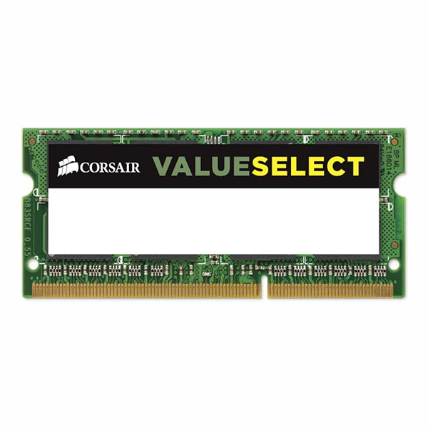 Ram Corsair Memory 4GB DDR3L SODIMM Memory CMS08GX3M1C1600C11 - hakivn