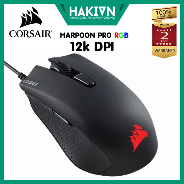 huột Corsair HARPOON RGB Pro Gaming 12K DPI - hakivn