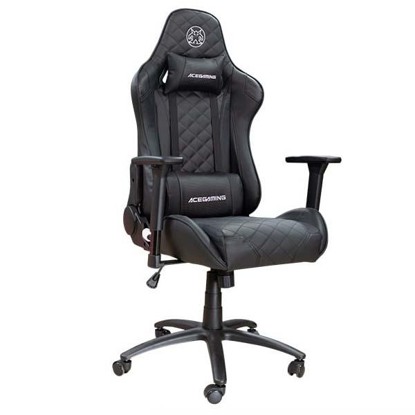 Ghế Ace Gaming Chair - Halberdier Series KW-G41 Black - Hàng chính hãng - hakivn