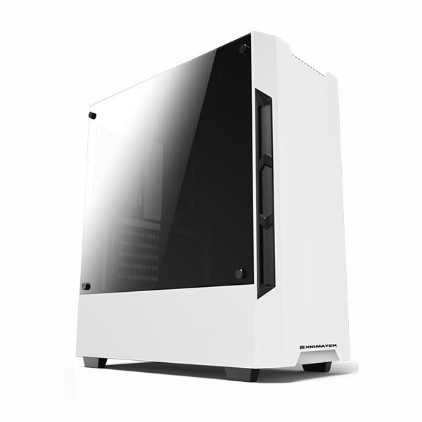 Vỏ Thùng máy XIGMATEK NEMESIS WHITE (EN42197) - ATX - hakivn