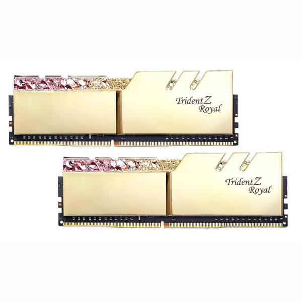 RAM desktop G.SKILL Trident Z Royal RGB F4-3000C16D-16GTRG (2x8GB) - hakivn