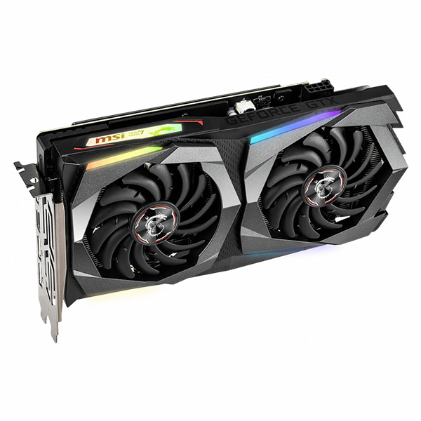 VGA MSI GTX 1660 Ti GAMING 6G → DIGITAL LED - hakivn