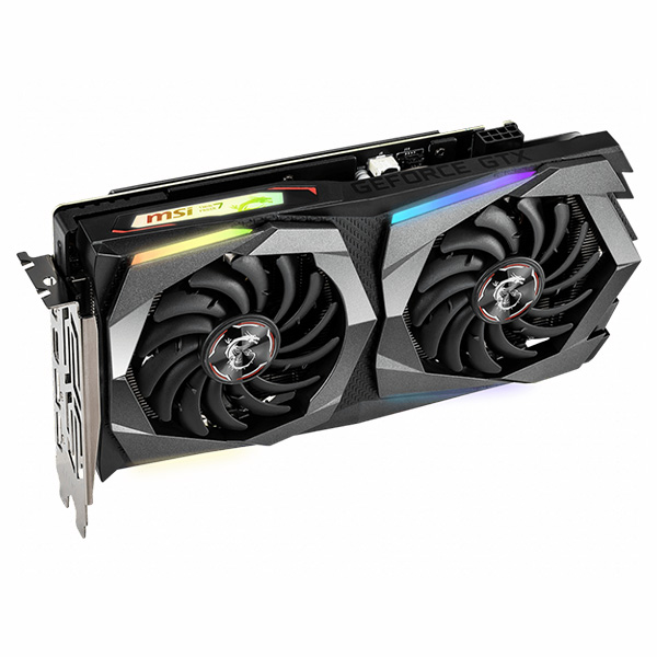 VGA MSI GTX 1660 Ti GAMING X 6G → DIGITAL LED - hakivn