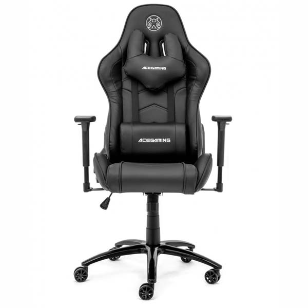 Ghế Ace Gaming Chair - Assassin Series KW-G02S (Black, Black/Red, Black/White) Hàng chính hãng - hakivn