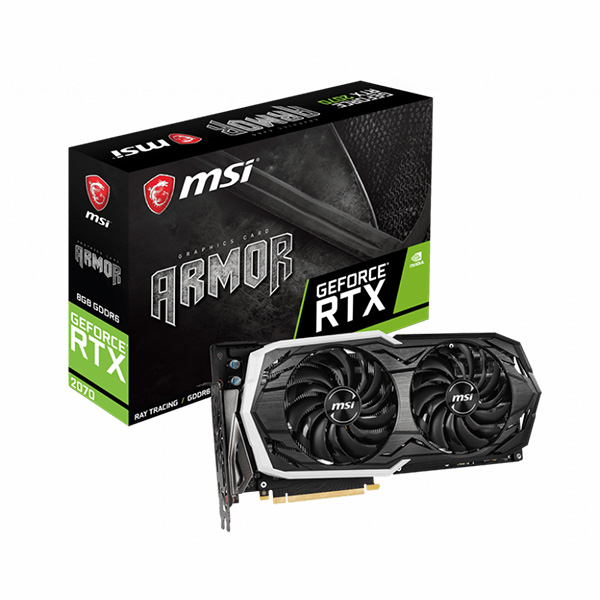 VGA MSI RTX 2070 ARMOR 8G → DIGITAL LED - hakivn