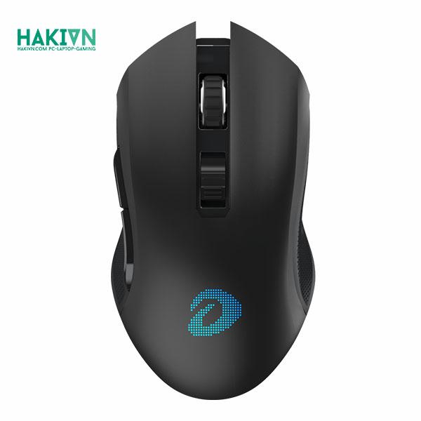 Chuột không dây Gaming DAREU EM905 PRO - BLACK (LED RGB, BRAVO sensor) - hakivn