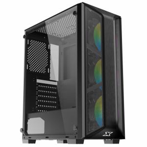 XIGMATEK TRIO 3FC (EN45686) - GAMING ATX, KÈM 03 FAN XIGMATEK X20C RGB - hakivn