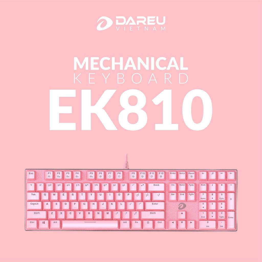 Bàn phím cơ Gaming DAREU EK810 - Queen (MULTI-LED, Blue/ Brown/ Red D switch) - hakivn