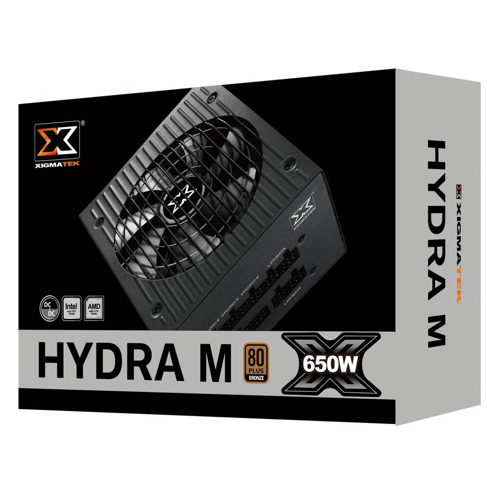Nguồn máy tính Xigmatek HYDRA M 650 EN44214 - 650W 80Plus Bronze - hakivn