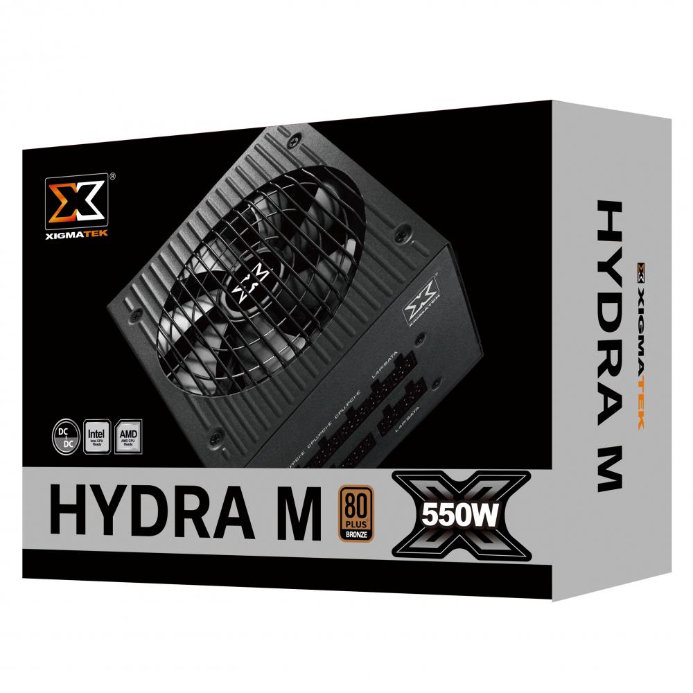 Nguồn máy tính Xigmatek HYDRA M 550 EN44207 - 550W 80Plus BRONZE - hakivn